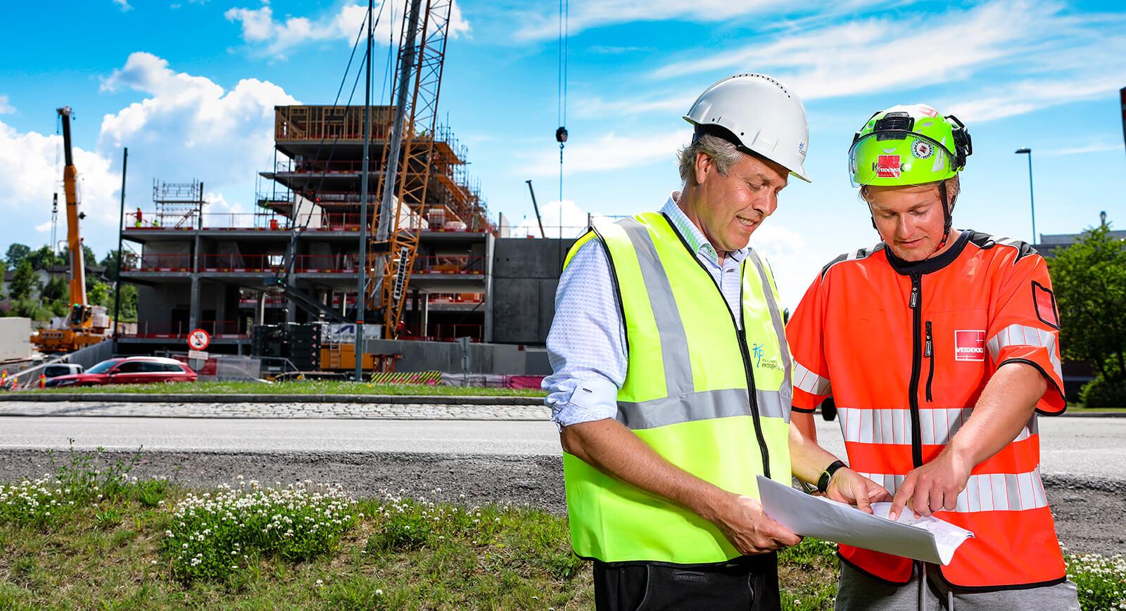 Prosjekt- og byggeledelse, tjenester levert av Kongsberg Prosjektservice
