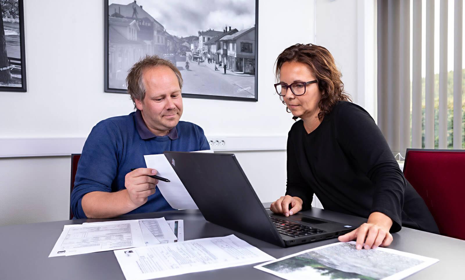 Byggesøknad fra Kongsberg Prosjektserivce
